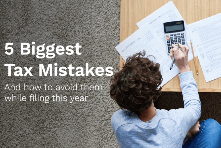 5-tax-filling-mistakes
