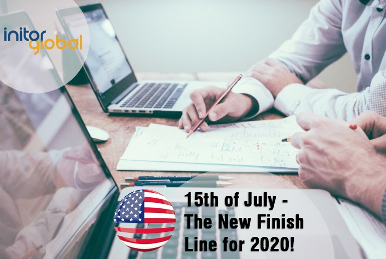 15th of July - The New Finish Line for 2020