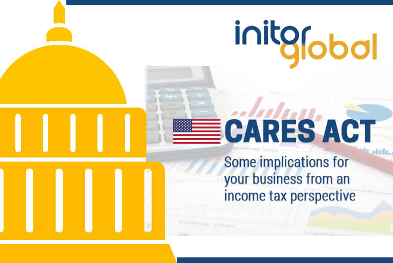 Cares Act-Some implications for your business from an income tax perspective